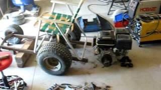 Just Starting The Dumptruck Lawnchair Build