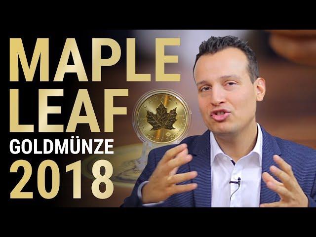 MAPLE LEAF Goldmünze 2018 - 1 Unze Gold