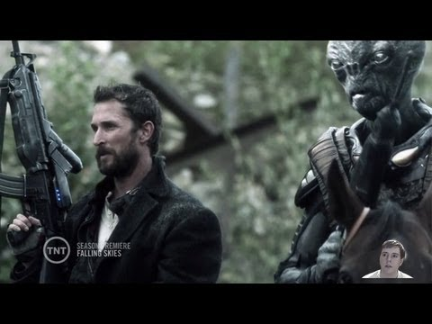 Falling Skies Season 3 Premiere - Episodes 1 and 2 - On Thin Ice and Collateral Damage Video Review