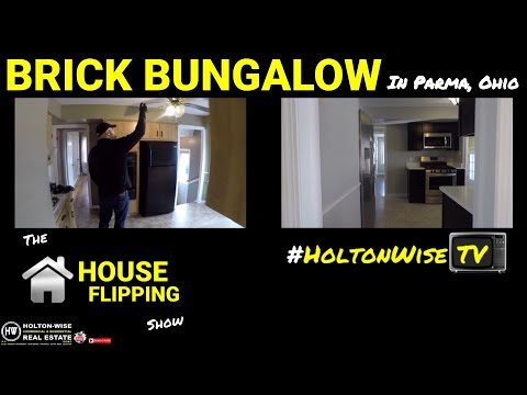 Flipping Houses for Beginners | Brick Bungalow in Parma – The House Flipping Show 1