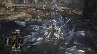 Dark Souls 3: Crystal Sage Boss Fight NG+7 Co-op
