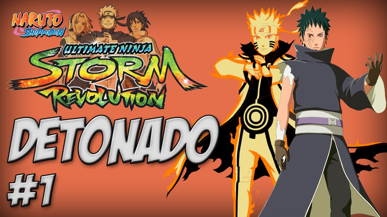 Naruto Ninja Storm Revolution, Detonado #1 Bem Vindos ao Torneio Mundial Ninja Rank D - Nillo21 ...