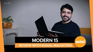 Find out why MSI Modern 15 A5M is your perfect work companion!