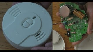 How to stop the Smoke detector from chirping or beeping