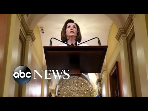 'No choice but to act' on impeachment, Pelosi says