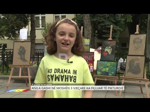 PasDite: 9 vjeçarja Anila Gashi me ekspozitë