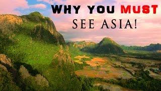 CINEMATIC TRAVEL VIDEO -MALAYSIA, LAOS, VANG VIENG, LUANG PRABANG