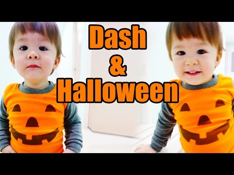 Baby Dash And Halloween (1yr 6m)