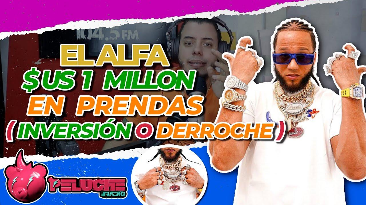 EL ALFA - MUESTRA SU MILLONARIA COLECCIÓN DE PRENDAS 😳😱 1 Millón de DÓLARES . En Oro y Diamantes