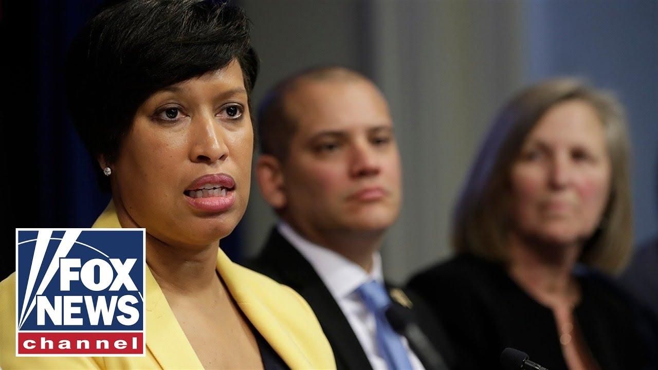 DC Mayor holds press conference ...