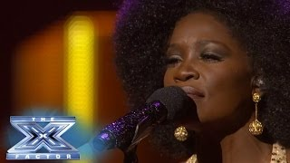Lillie McCloud Covers Stevie Wonder - THE X FACTOR USA 2013
