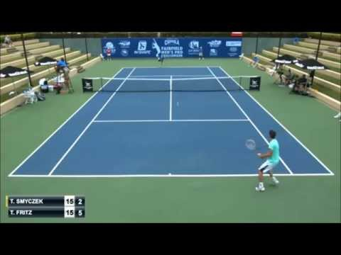 Death forehand Taylor Fritz