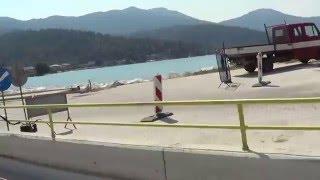 Остров Тасос, Греция: езда на скутере, красивые пейзажи и инфраструктура(На видео показано, что езда на скутере в Греции не составляет труда., 2016-03-27T11:35:05.000Z)