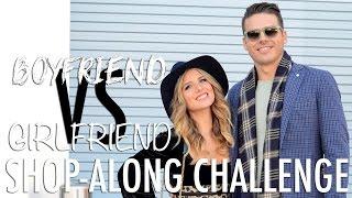 Holiday Shop-Along Challenge - Boyfriend vs. Girlfriend