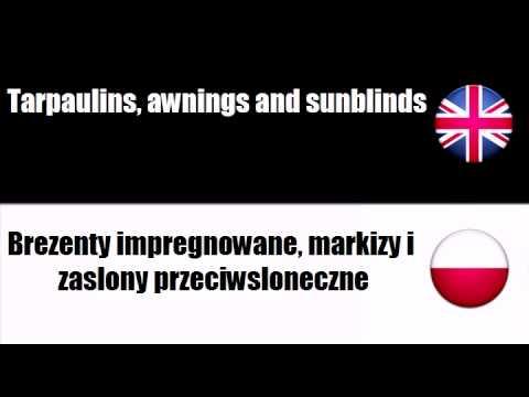 ENGLISH POLISH   Soft furnishings