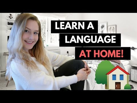 🔥 HOW TO LEARN A LANGUAGE AT HOME! 🔥