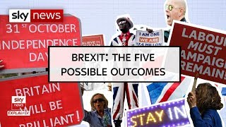 Brexit: The five possible outcomes