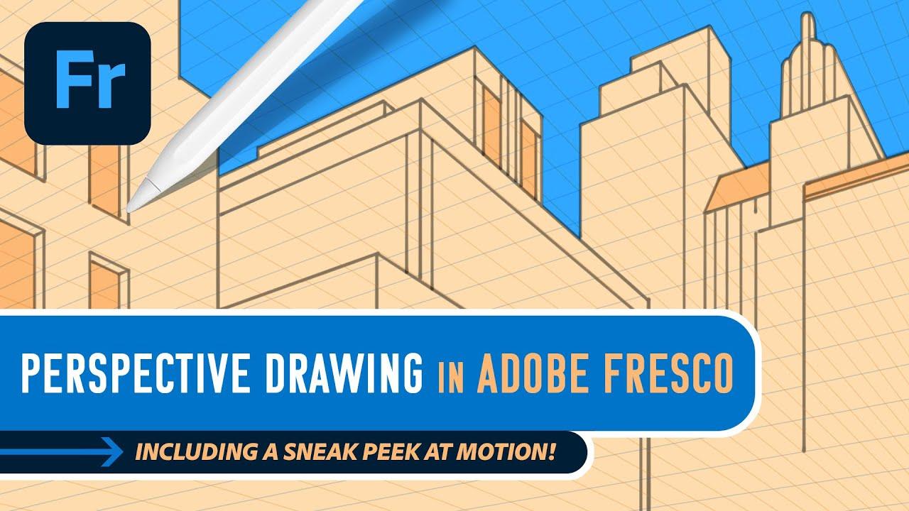 Fresco Sneak! Perspective Drawing & Motion