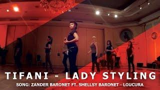 Tifani Gee - Kizomba Lady Styling Demo | Zander Baronet - Loucura | HD 2016