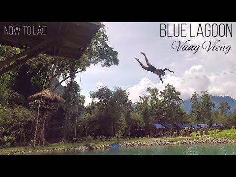 What lies behind the Mountains of Vang Vieng, Laos - In search of the Blue Lagoon