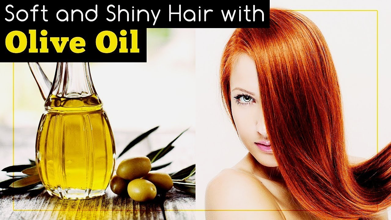 how to make hair shiny with olive oil