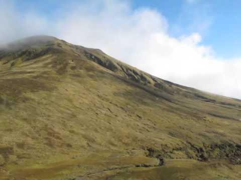 Gough Island Helicopter flight past Edinburgh/Expedition Peak