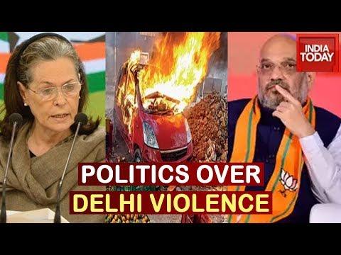 Sonia Gandhi Demands Amit Shah's Resignation, BJP Hits Back