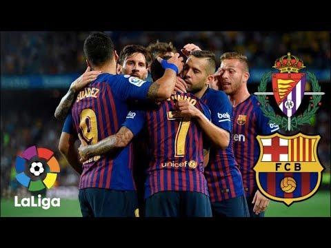Análisis Real Valladolid VS FC Barcelona (0-1) | Temporada 18/19