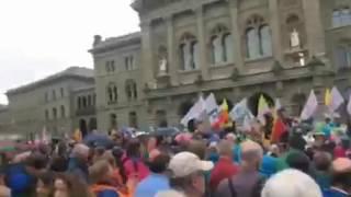 Demonstration in Bern: Zusammenfassung des Live-Streams