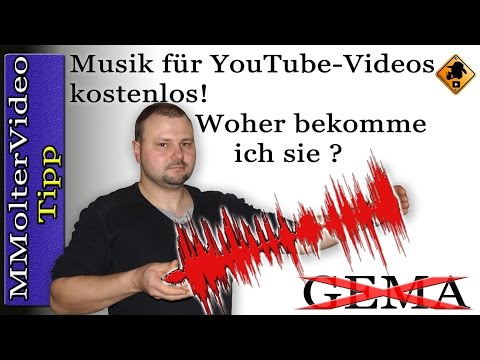 Musik für YouTube-Videos kostenlos! Woher bekomme ich sie? MMolterVideo