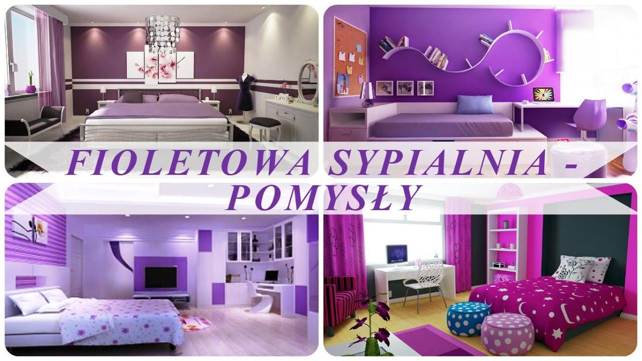 Fioletowa Sypialnia Pomysły