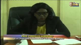 Ambrose Alli University Ekpoma Holds 19th Convocation Ceremony
