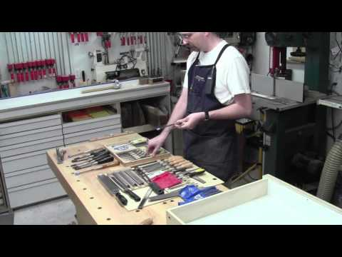 In the Shop - Highly Adjustable File & Chisel Storage - Part 1