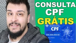 Como Consultar o CPF no SPC e SERASA Grátis Pela Internet