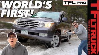 Before & After: Is a Bone Stock Toyota Land Cruiser Any GOOD in the Dirt? | TFLpro S.1 EP. 1