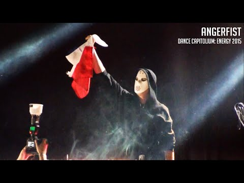Angerfist en Chile - Dance Capitolium: Energy, 2015