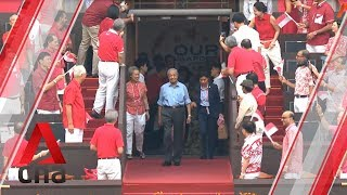 Malaysia, Indonesia, Brunei leaders arrive at NDP 2019