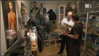 James Bond Club MISSION PIZ GLORIA feat. 007 Collector @ SF1 Swiss Television