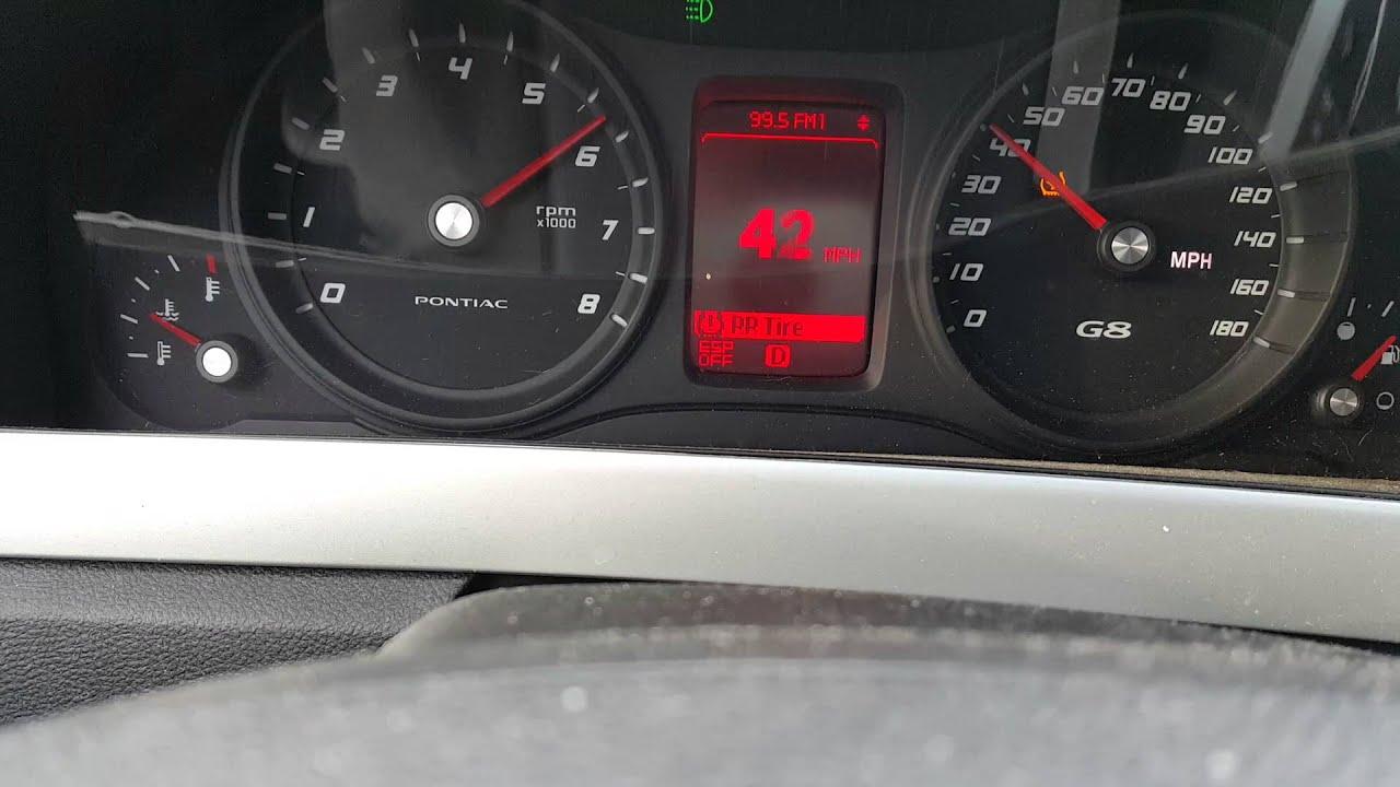 2009 Pontiac G8 V6 0 60
