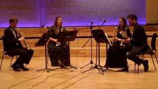 Lucy Armstrong: Same Same But Different - Movement 3. Performed by the Borealis Saxophone Quartet