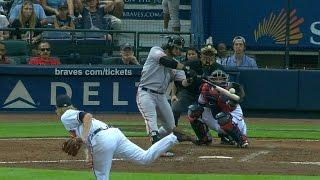SF@ATL: Giants smash four homers vs. the Braves