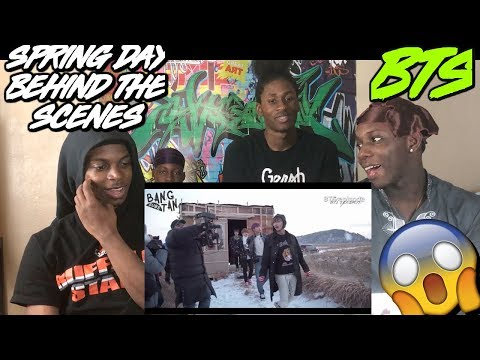BTS 'Spring Day' MV Shooting Sketch (Behind the Scenes)  - REACTION