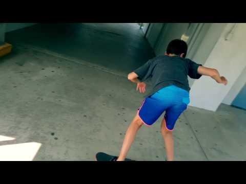 California mini Skateboard edit at the Newport Beach Middle school Bay Area