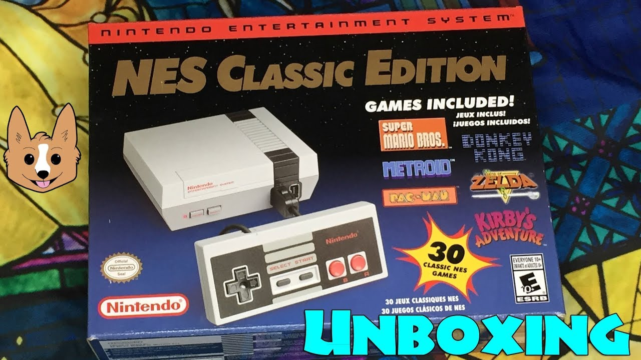 Nes Classic Edition Unboxing Nintendo Re Release Youtube