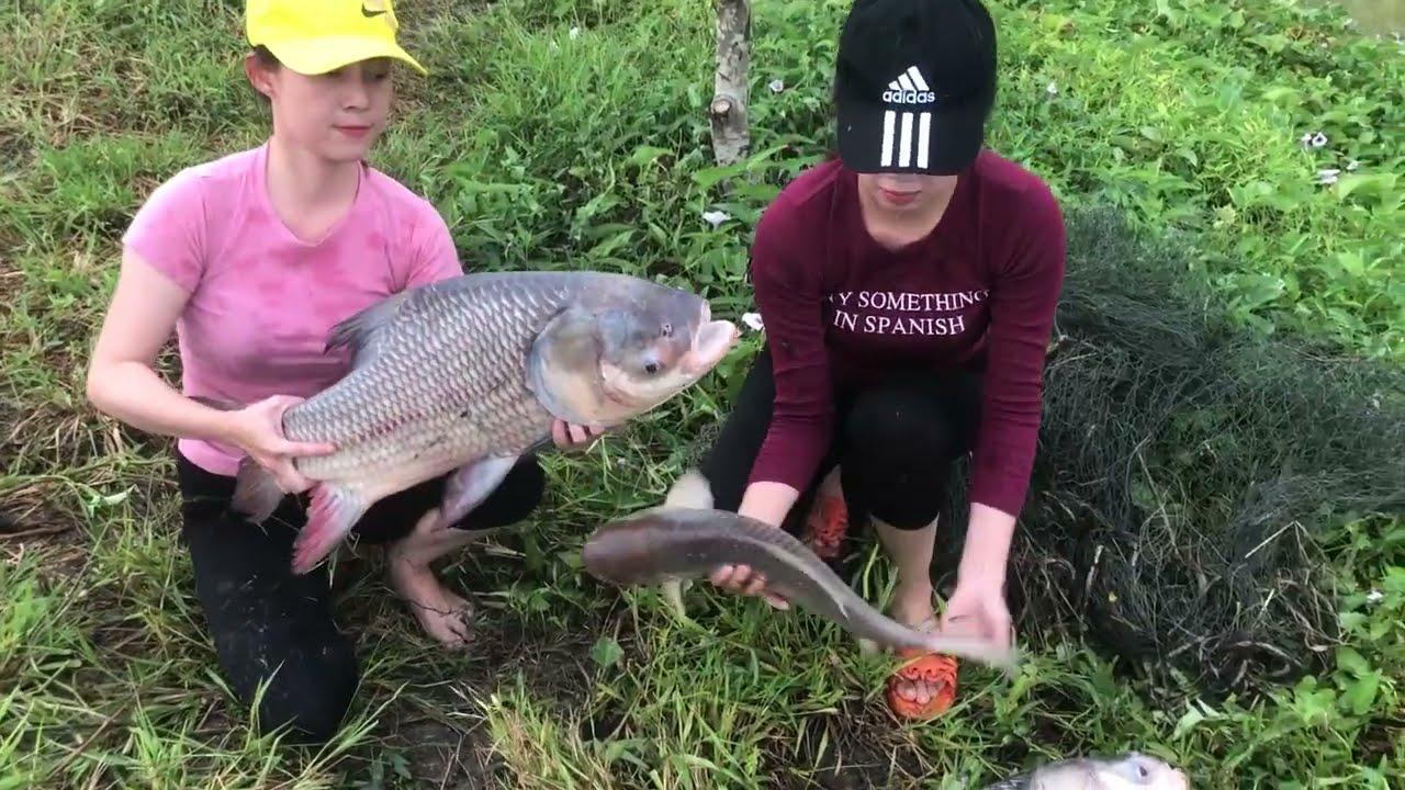 Top 4 Incredible Girl Fishing vs. 85KG BIGGEST Dragon Fish