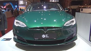 Tesla Model S SB  Shooting Brake Exterior and Interior