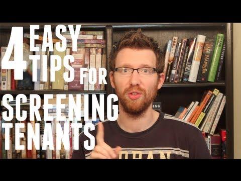 Tenant Screening: 4 Tips for Selecting the Perfect Tenant