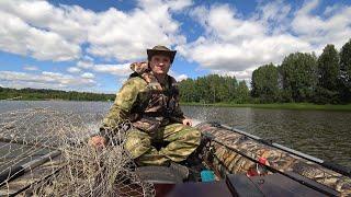 Рыбалка с лодки в новых местах ЛОДКА БЕРЕГ 320 Лайт Мотор HIDEA HD9 8