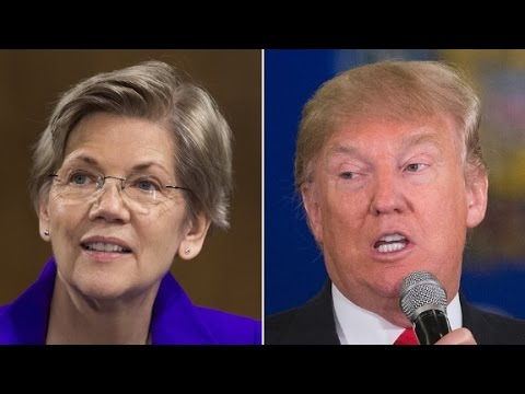 Elizabeth Warren stands up to Trump on Twitter
