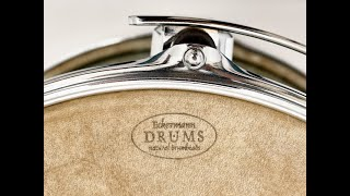 ECKERMANN DRUMS natural drumheads - performed by JÖRG HABERL on an ALTO BEAT Custom Drumset